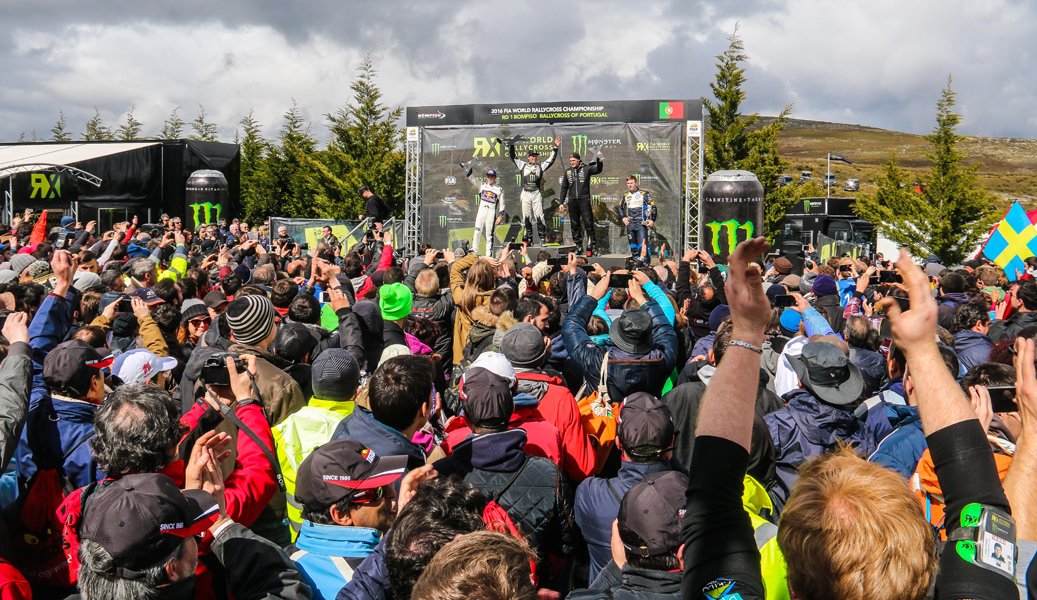 Petter Solberg vence em Montalegre (Mundial Rallycross 2016)